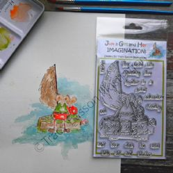 The Clan McTavish Stamps - The Guid Life{mouse} - Tracy Easson Illustrations